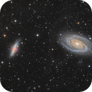 M81 & M82 in LRGB-HA high definition,                                Vincent F