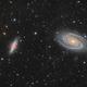 M81 & M82 in LRGB-HA high definition,                                Vincent F