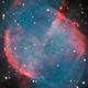 m27 (Dumbell planetary nebula) HOORVB,                                *philippe Gilberton
