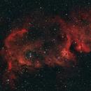 IC 1848, The soul nebula from bortle 8,                                Enol Matilla
