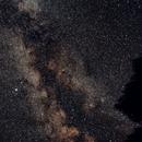 Milky Way near Altair,                                JD