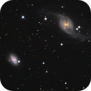 NGC 3718, 3729 and Hickson 56,                                Patrice RENAUT
