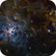 NGC2070 - Narrowband,                                George Varouhakis