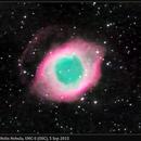 NGC 7293, Helix Nebula, 5 Sep 2015,                                David Dearden