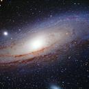 M31 Andromeda galaxy,                                Göran Nilsson