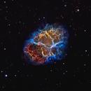 M1 - Crab Nebula,                                Yovin Yahathugoda