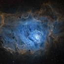 M 8 Lagoon Nebula,                                Zhuoqun Wu
