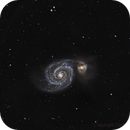 M51 - La galaxie du tourbillon,                                ZlochTeamAstro