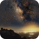 Milky Way over the Castle of Loarre (Province of Huesca, Spain),                                Francisco
