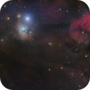 Where stars are born, IC348 and LBN 749 along with a few other friends,                                Jon Talbot