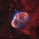 Crescent Nebula NGC6888,                                jdowning