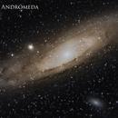 M31 Gran Galaxia de Andromeda,                                Abel