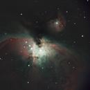 Orion Nebula with Canon SL1,                                Chappel Astro