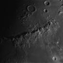 Lune/Moon - Montes Apenninus (2014/10/31 - 19:05:21),                                Axel Vincent-Randonnier