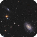 NGC 4725, NGC4747, NGC4712 and more (LIrRGB),                                Jonathan W MacCollum