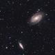 M81 & M82 with DSLR,                                Tobias Artinger