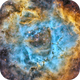 NGC2244 in SHO zoom (new process),                                Georges