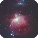 Orion Nebula, photography of the past,                                Adrie Suijkerbuijk