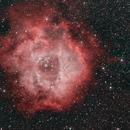 NGC 2237 the Rosette Nebula,                                mistateo