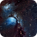 M78 and McNeil's Nebula,                                DeepSkyView