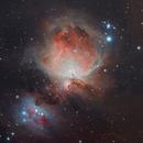 M42 - Orion nebula,                                gufle