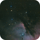 NGC281 Pacman HII emission nebula with the Intes Mk67 and uncooled ASI174MM,                                Patrick Duis