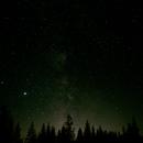 Milky Way and Portland Light,                                Kelly Wood