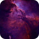 NGC6188 Bicolour: First Light Tak 130 + QSI6162 + Chroma filters,                                Andy 01