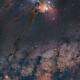 Rho Ophiuchus, Milky Way and Saturn meeting Pipe Nebulae,                                Carlos 'Kiko' Fai...