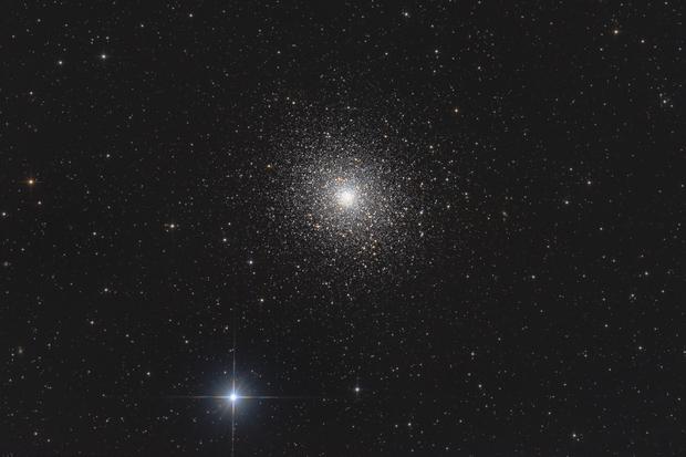 Messier 5 - globular cluster in Serpens,                                Michael S.