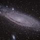 Andromède (M31),                                Pierre D.