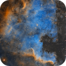 North America Nebula in Narrowband,                                Chuck's Astrophot...