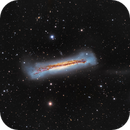 NGC 3628 - The Great Hamburger in the Sky,                                John Hayes