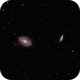 Bodes and Cigar Galaxies,                                Steve Eltz