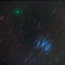 Comet 46P visits the Pleiades,                                Gianlorenzo