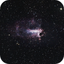 The Omega Nebula, Messier 17,                                astropical