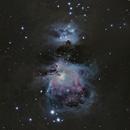 M 42 - Orionnebel ,                                Alex