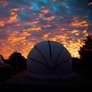 Sunrise at Astro La Vista Observatory, Prescott, Arizona  02/18/2021,                                Jim Matzger