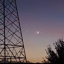Moon & Venus 2020.01.28,                                Alessandro Bianconi