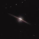 Needle galaxy,                                Marcin Kuś