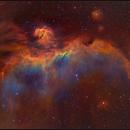The Seagull nebula closeup,                                Kfir Simon