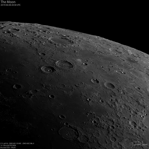 The Moon - Posidonius Crater,                                Francesco Cuccio