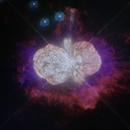 Eta Carinae - The doomed star of Carina - Hubble Telescope,                                Matt Baker