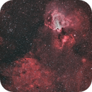 M 17 and IC 4701,                                Tommy Lease