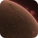 Sun ( AR 2829 and Prom) June 11th,2021,                                John Leader