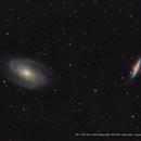 M81 /  NGC 3031 / Bodes Nebulae M82 / NGC 3034 / Cigar Galaxy,                                Ron Bokleman