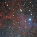 IC 405- Flaming Star Nebula,                                Terrance