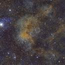 Soap Bubble Nebula fusion of data by Bert Scheuneman and Irving Pieters,                                Bert Scheuneman