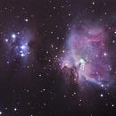 Messier 42/43,                                Stephen Prevost