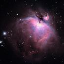 M42 Orion Nebula,                                camaelon